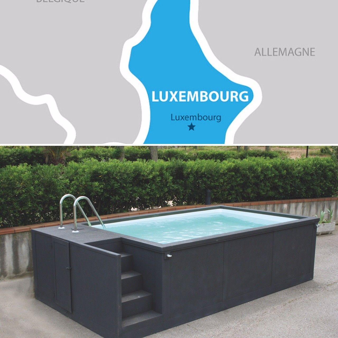 Redange Luxembourg Piscine Container De 20' Container ... concernant Piscine Conteneur