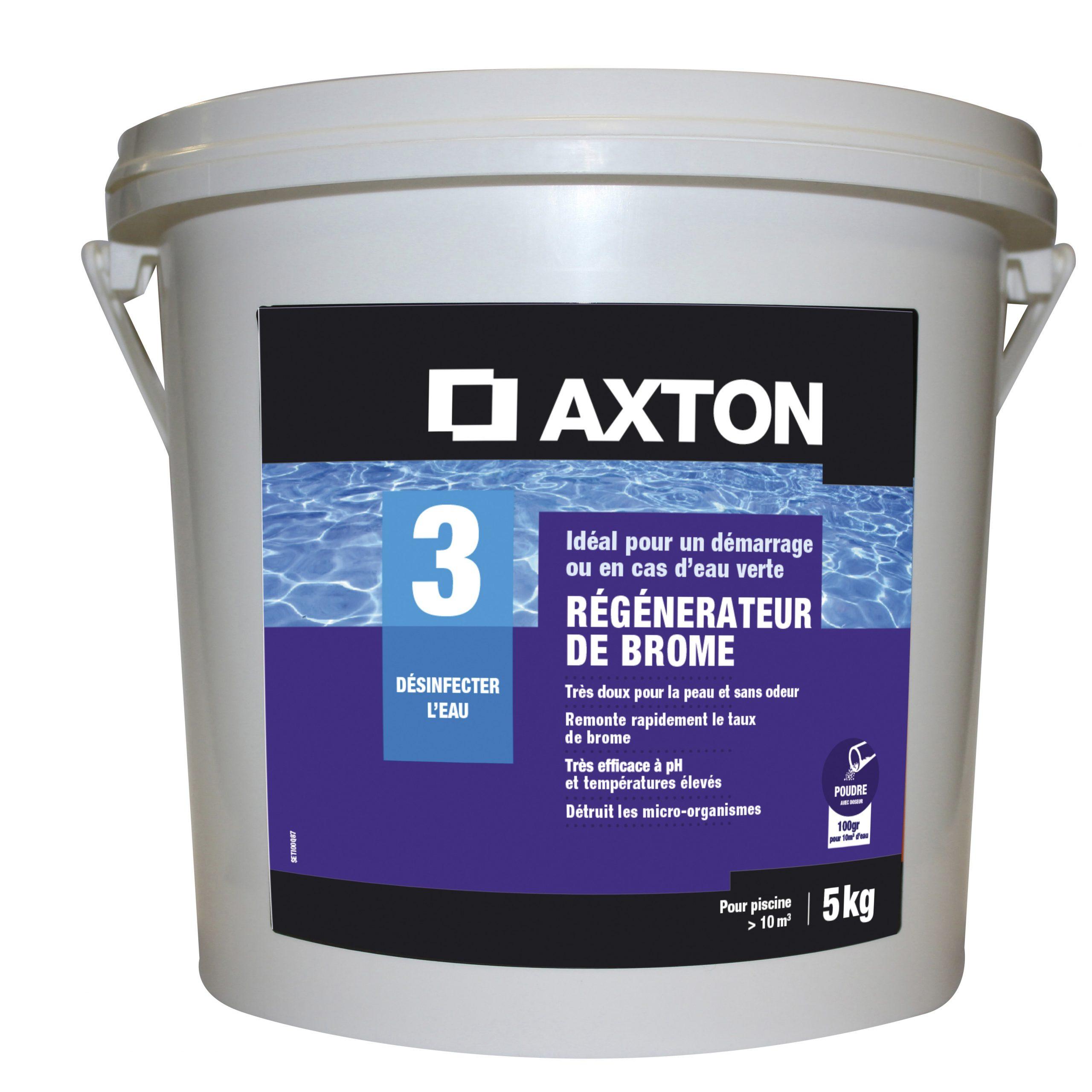 Régénérateur De Brome Piscine Axton, En Poudre 5 Kg à Produit Piscine Leroy Merlin