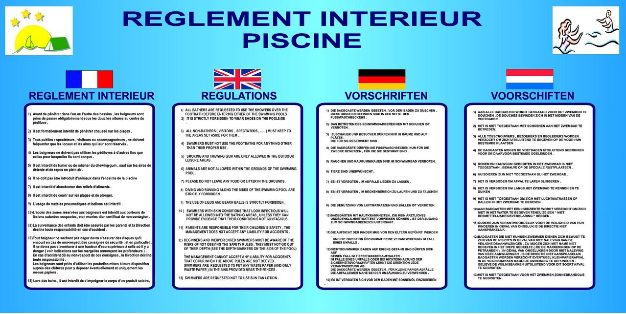 Règlementation Piscine intérieur Reglementation Piscine