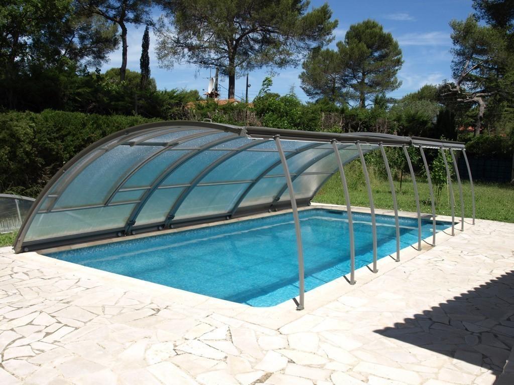 Removable Pool Enclosure | Abrisud Pool Enclosure - Pool ... serapportantà Dome Piscine Hors Sol