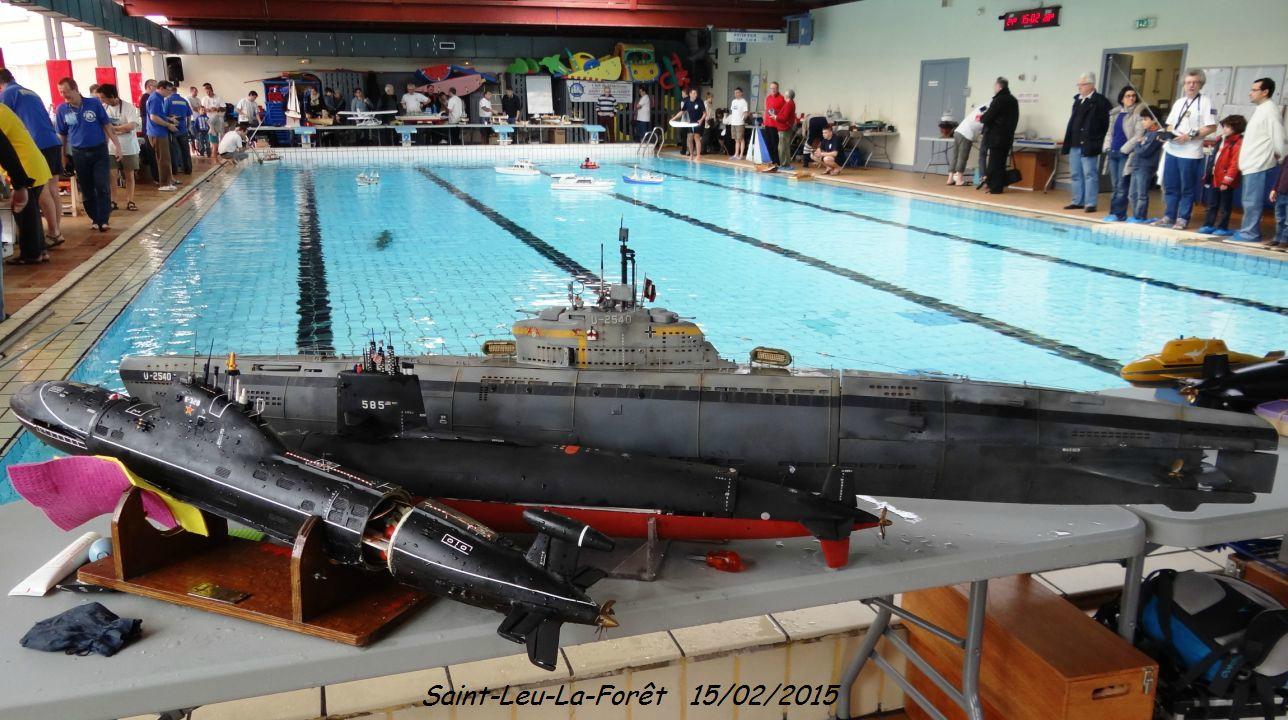 Rencontre Submarine Rc.-07- - Sous-Marins Modèles Et Réels. destiné Piscine Saint Leu La Foret