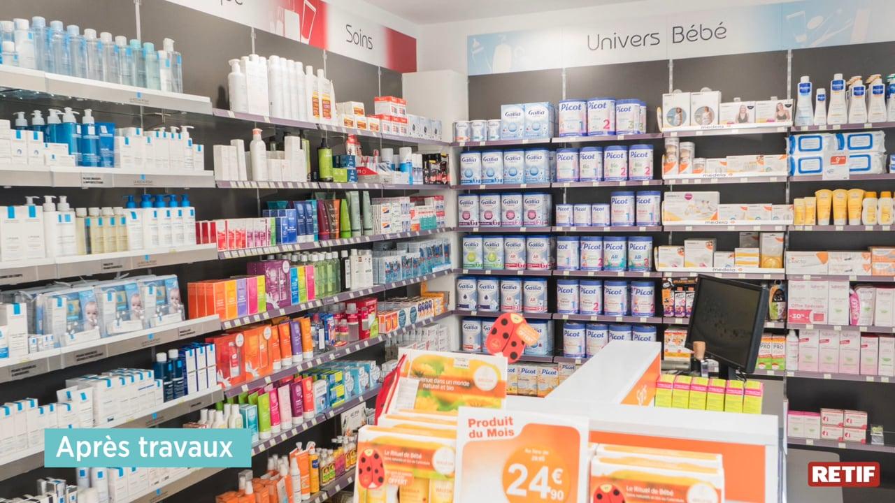 Rénovation De La Pharmacie Chanzy À Hellemmes (59) | Retif ... tout Azialo Piscine