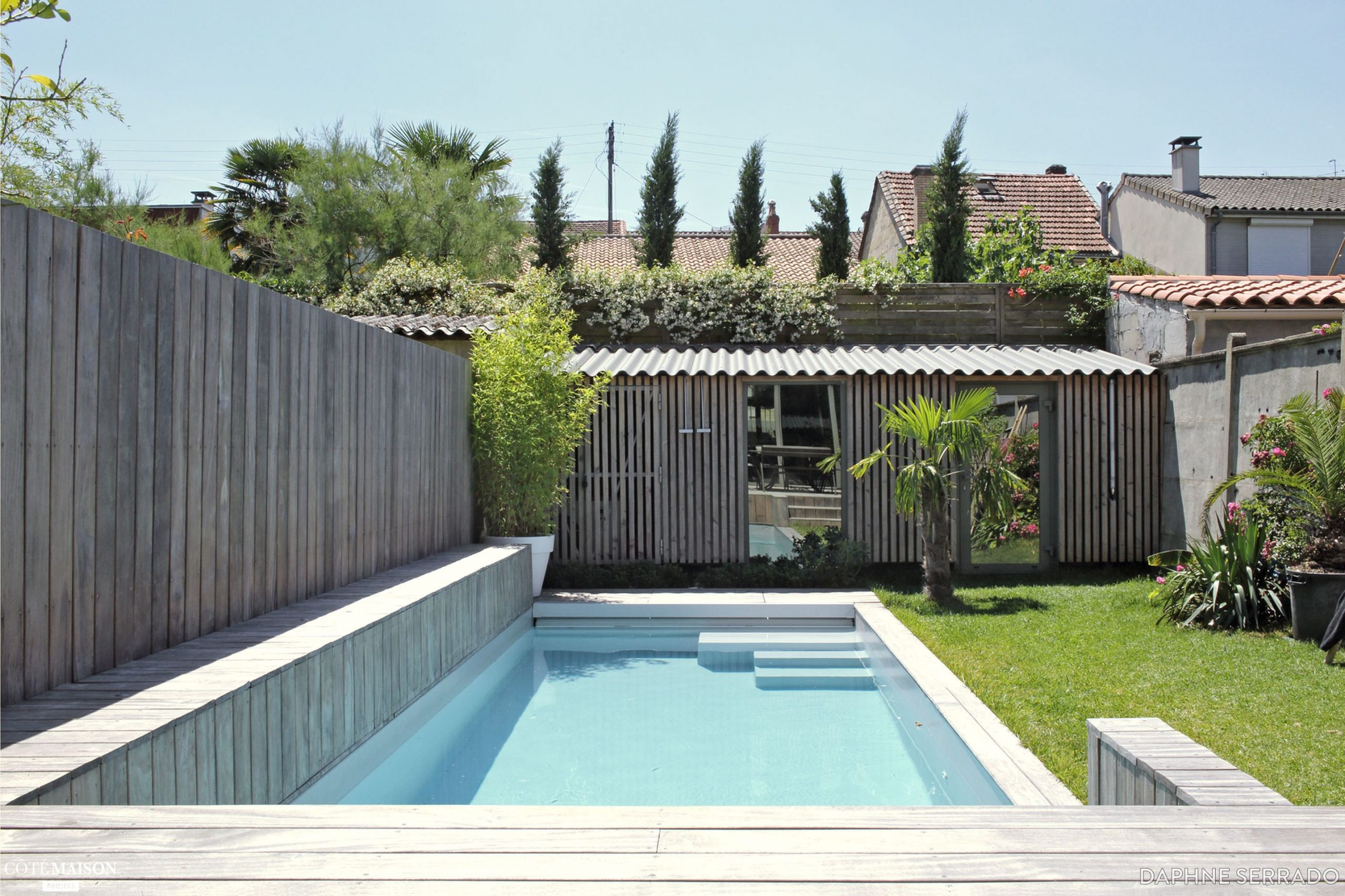 Rénovation D'une Maison Au Bouscat, Dans La Banlieue ... destiné Piscine Du Bouscat