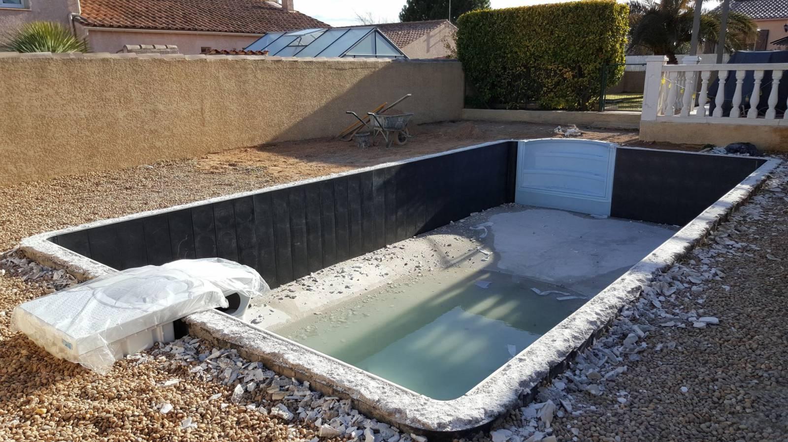 Rénovation D'une Piscine Desjoyaux De 8X4 Mètres ... à Tarif Piscine Desjoyaux
