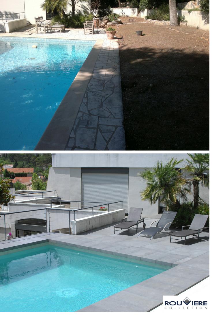 Rénovation Ou Pool Staging D'une Piscine. Nouvel Enduit ... à Enduit Piscine Béton