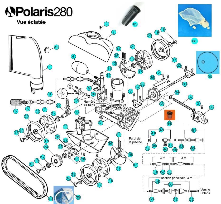 Réparation Robots De Piscine Polaris Sur Gémenos - Vente De ... à Pieces Detachees Piscine