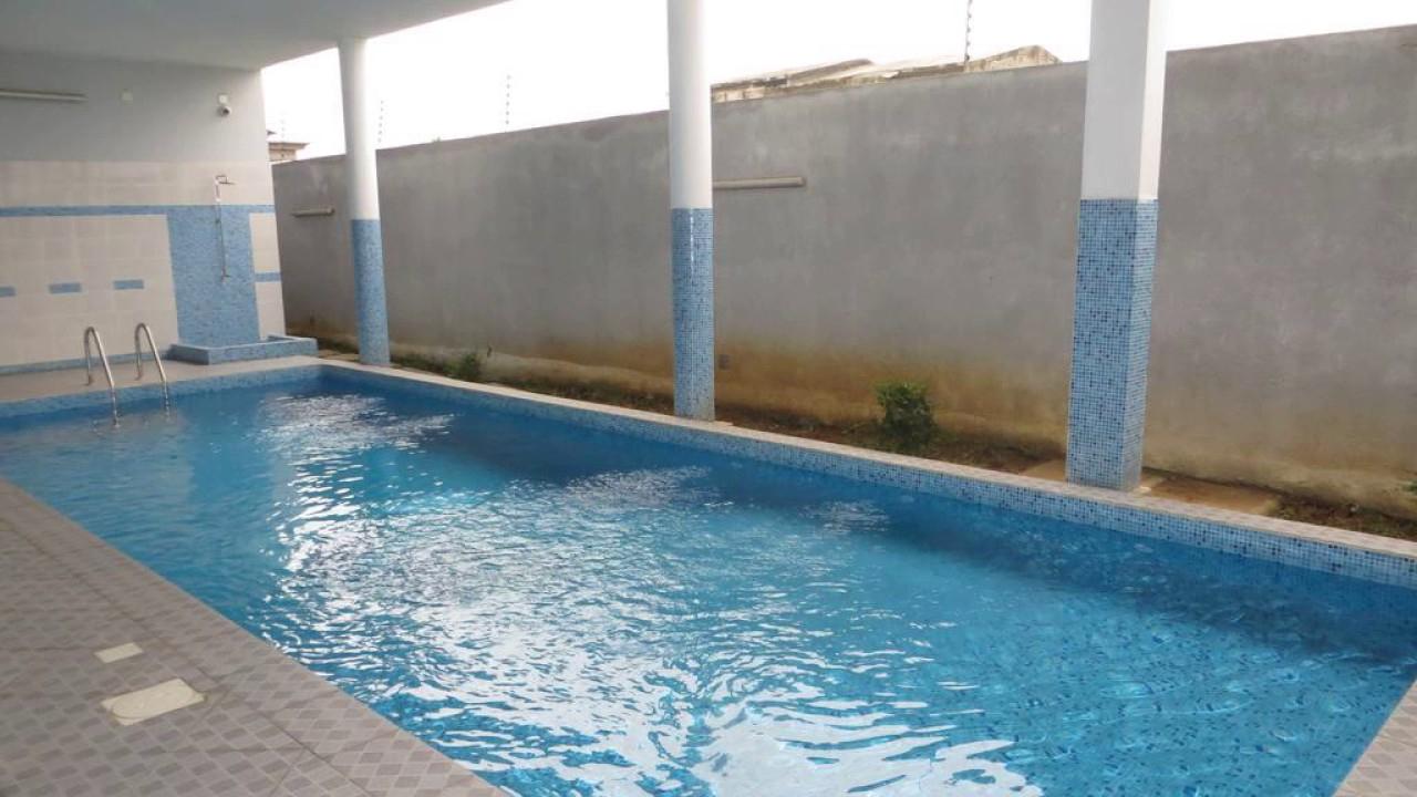 Residence Aissia - Abidjan - Côte D'ivoire - encequiconcerne Jules Verne Piscine