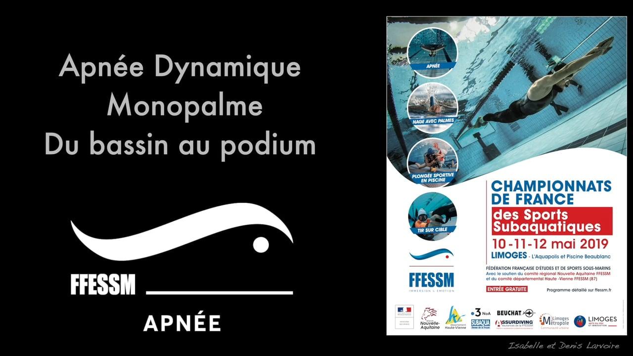 Retour Sur L'apnée Dynamique Monopalme, Du Bassin Au Podium serapportantà Piscine Beaublanc