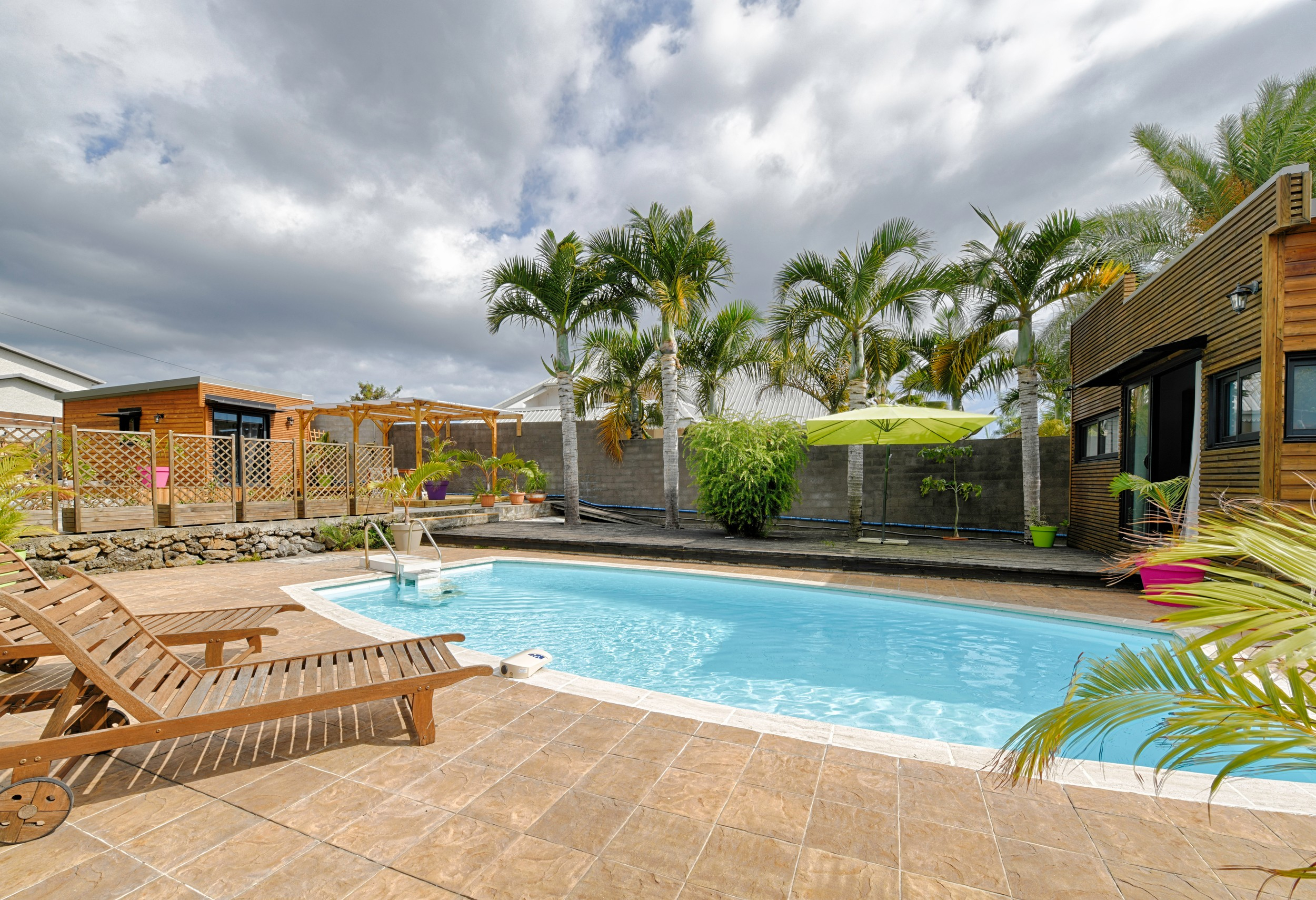 Reunion Island Holiday Rental In St Louis At 15Min From The Beach tout Piscine St Lo