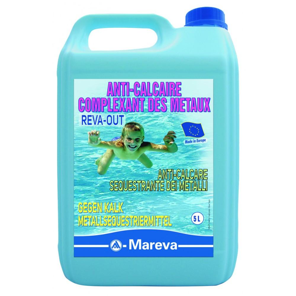 Reva-Out Anti-Calcaire Complexant Des Metaux - Alliance ... intérieur Séquestrant Métaux Piscine