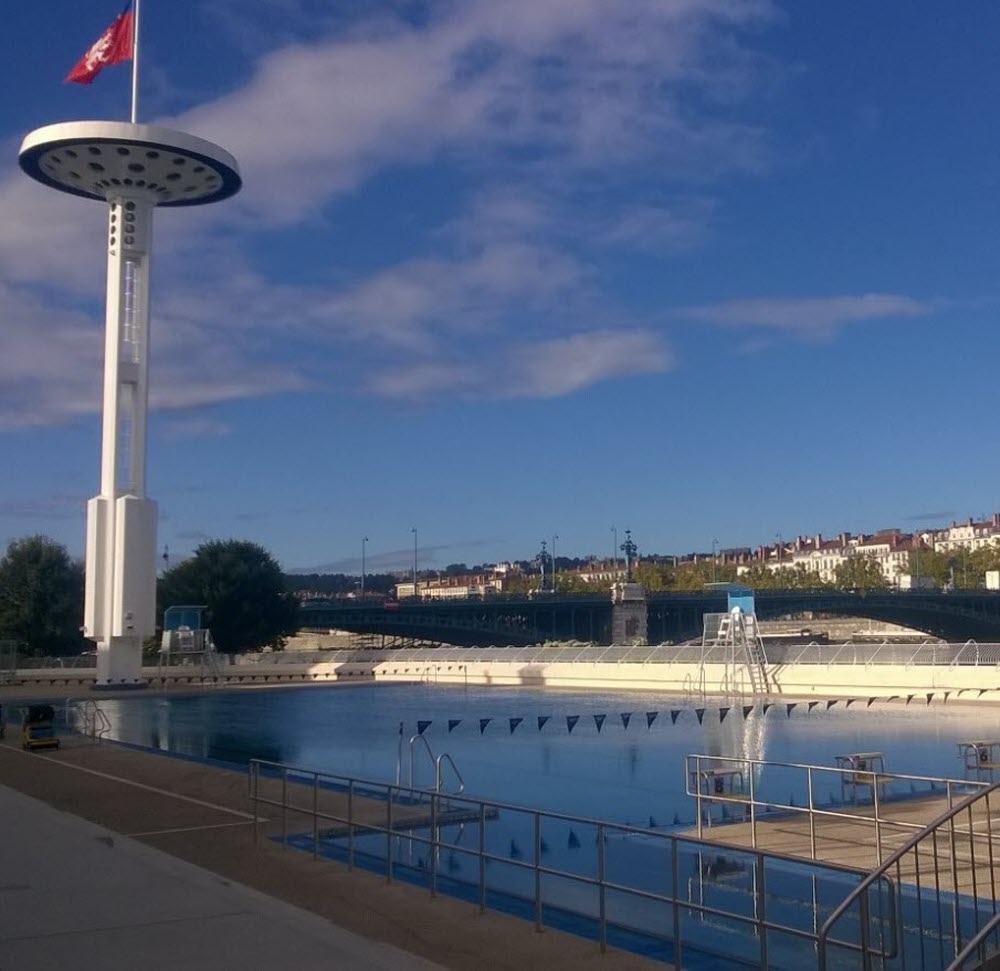 Rhône | On A Testé Pour Vous : Le Bassin Chauffé De La ... pour Piscine Du Rhône Lyon