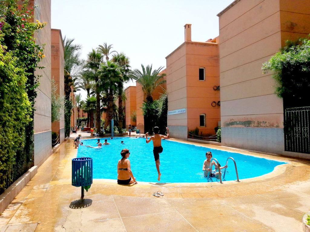 Riad Avec Piscine Aux Portes De La Médina, Huis Marrakech ... concernant Riad Marrakech Avec Piscine