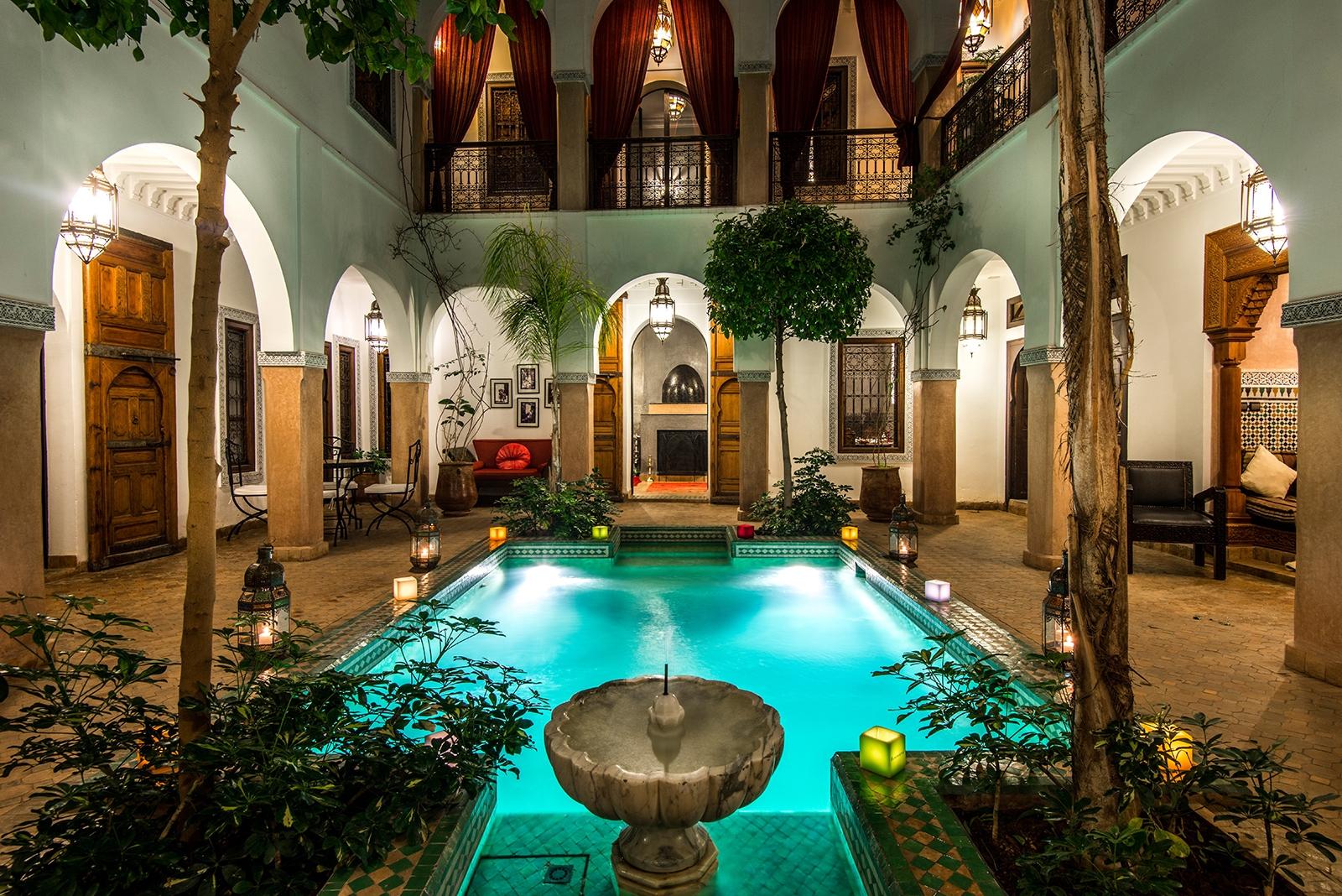Riad El Noujoum - Charming Riad In Marrakech encequiconcerne Riad Marrakech Avec Piscine