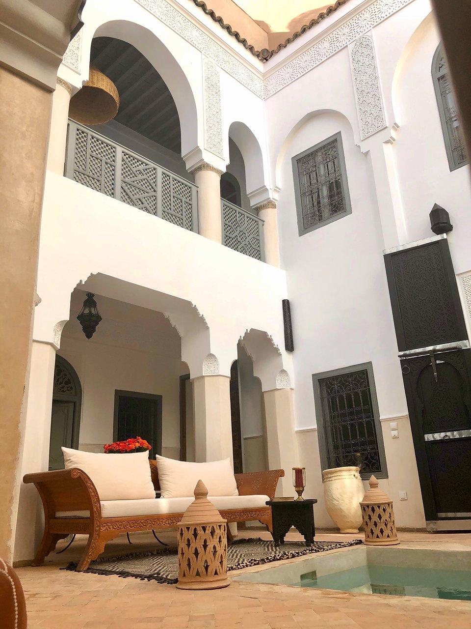 Riad-Hadika Maria (Marakeş, Fas) - Oda Ve Kahvaltı Yorumları ... avec Riad Marrakech Avec Piscine