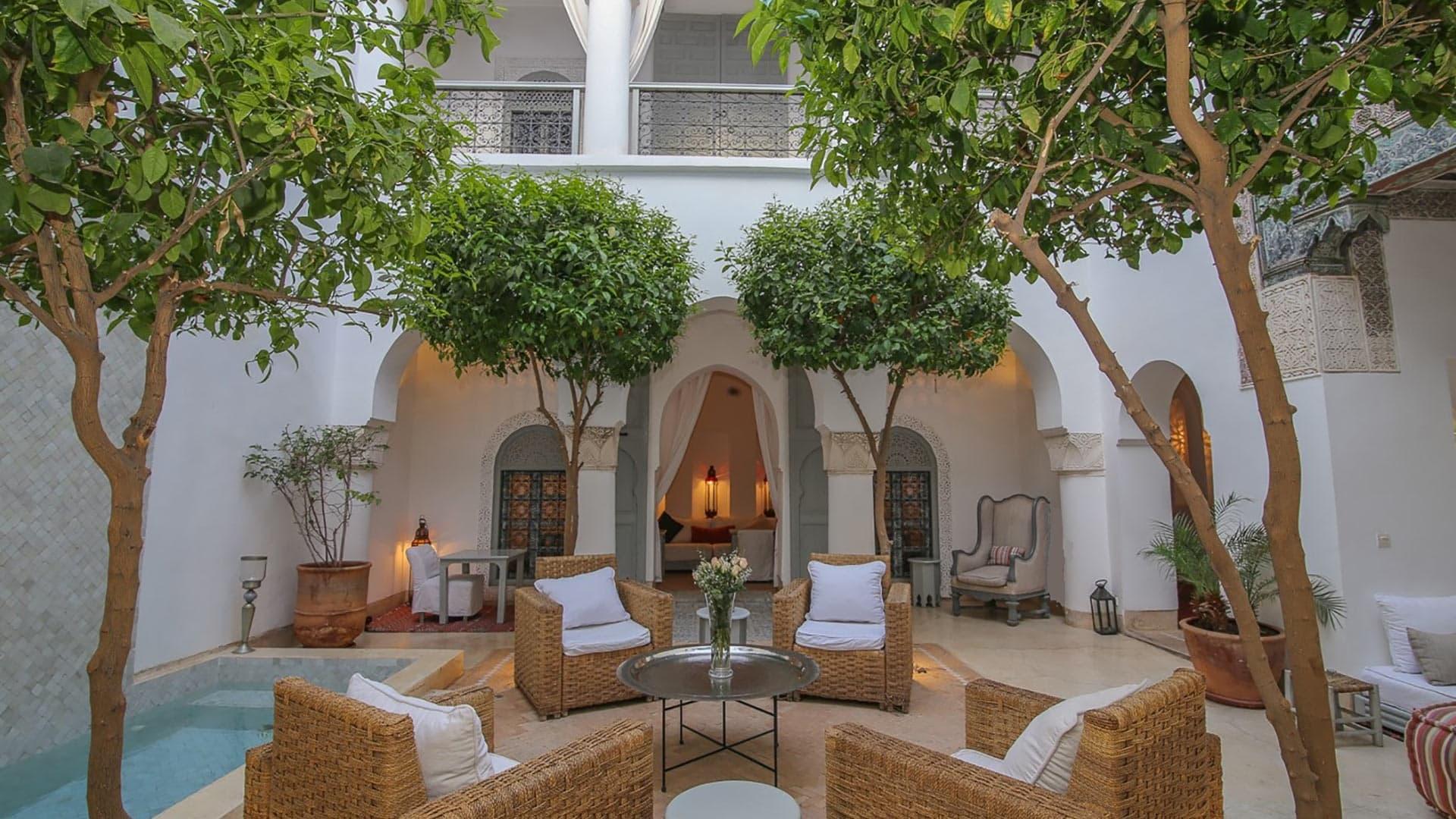 Riad Idoine - Villa Rental In Marrakech, Medina   Villa ... dedans Riad Marrakech Avec Piscine