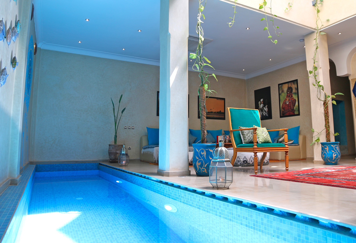 Riad Infinity Sea&spa - Site Officiel - Riad De Luxe À Marrakech dedans Riad Marrakech Avec Piscine