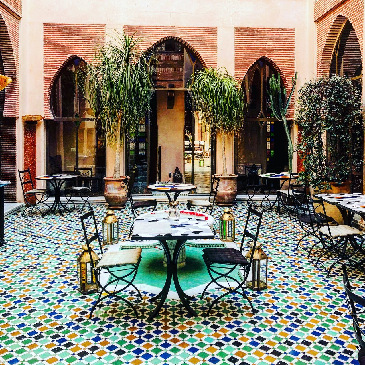 Riad Le Perroquet Bleu (Marakeş, Fas) - Konukevi Yorumları ... encequiconcerne Riad Marrakech Avec Piscine