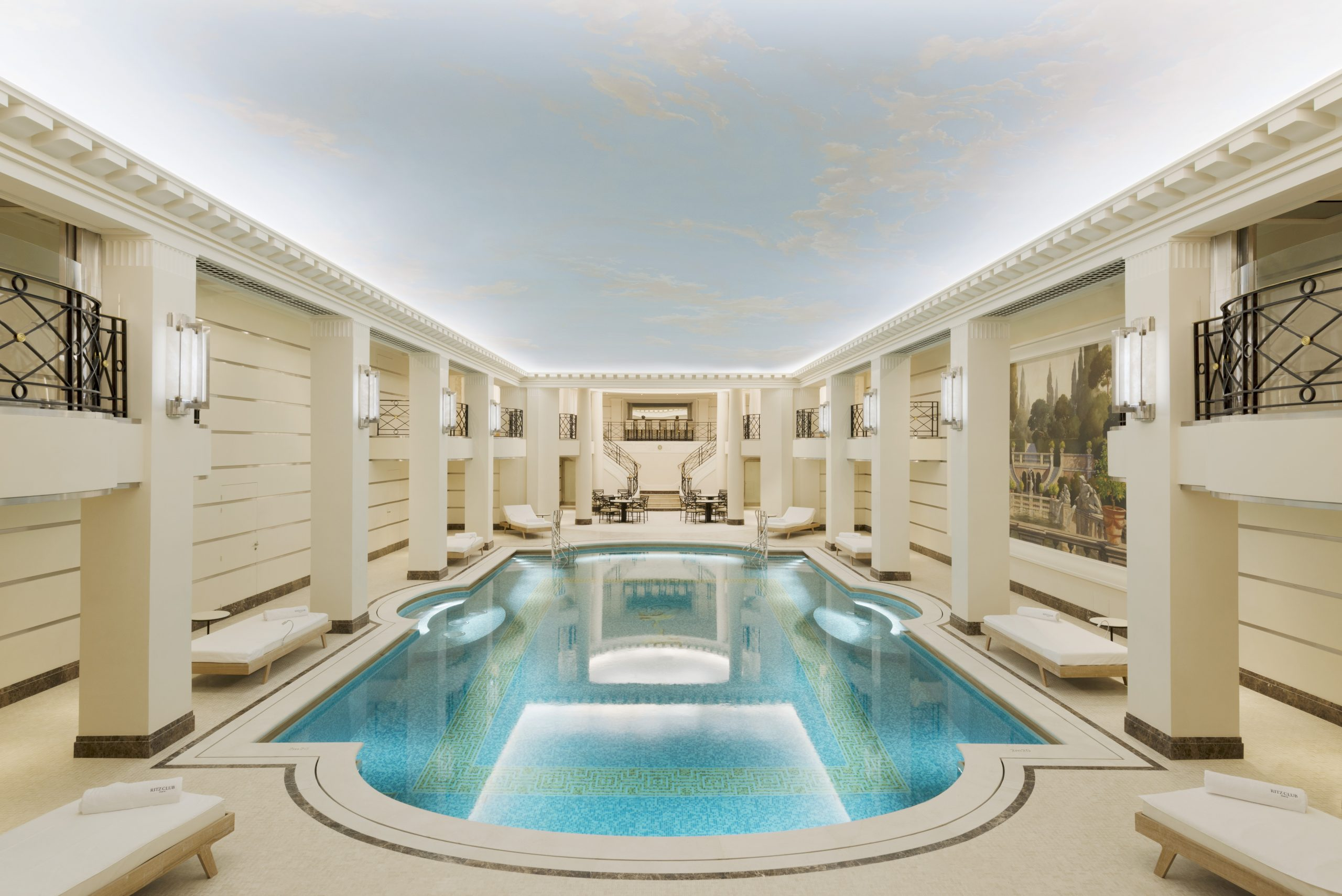 Ritz Paris - Piscine Spa Chanel | Elite Traveler avec Hotel Paris Piscine
