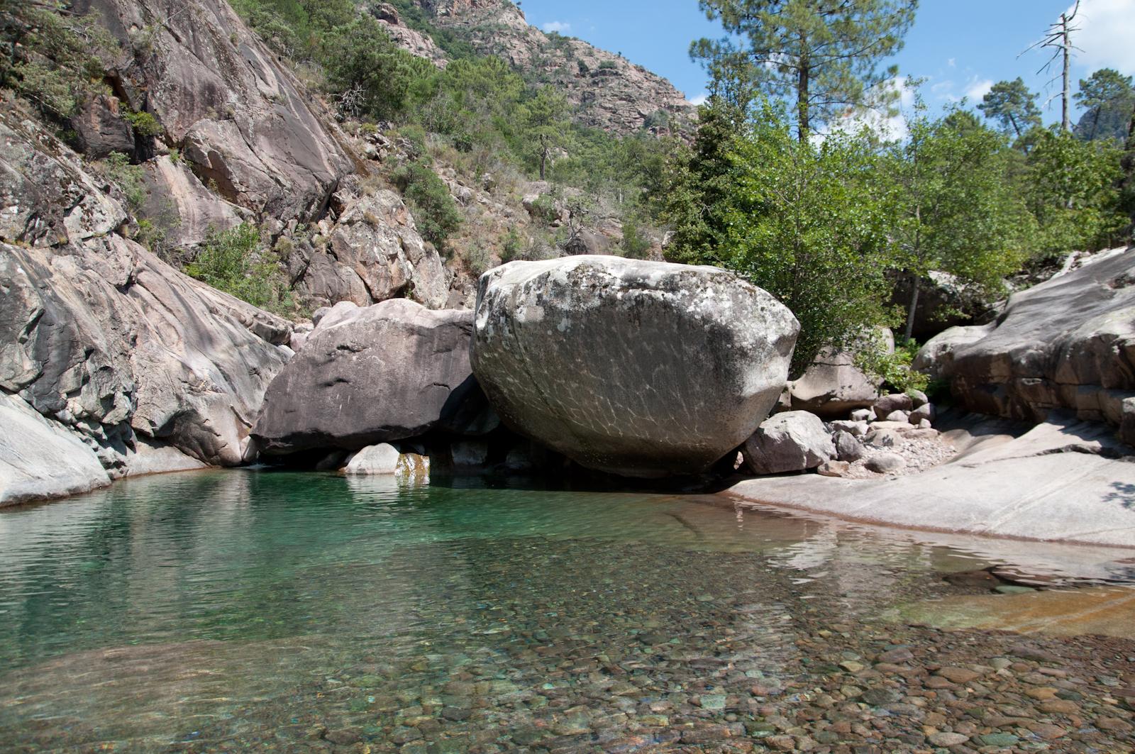 Rivières Corse Balagne : Figarella Forêt De Bonifatu - Fango pour Piscine Naturelle D Eau Chaude Corse Du Sud