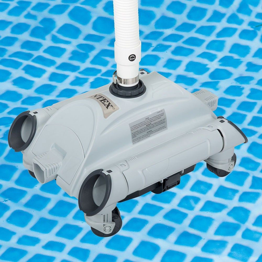 Robot Aspirateur Automatique Pour Fond Piscine Hors Sol Universel 28001 à Aspirateur De Fond Pour Piscine Hors Sol