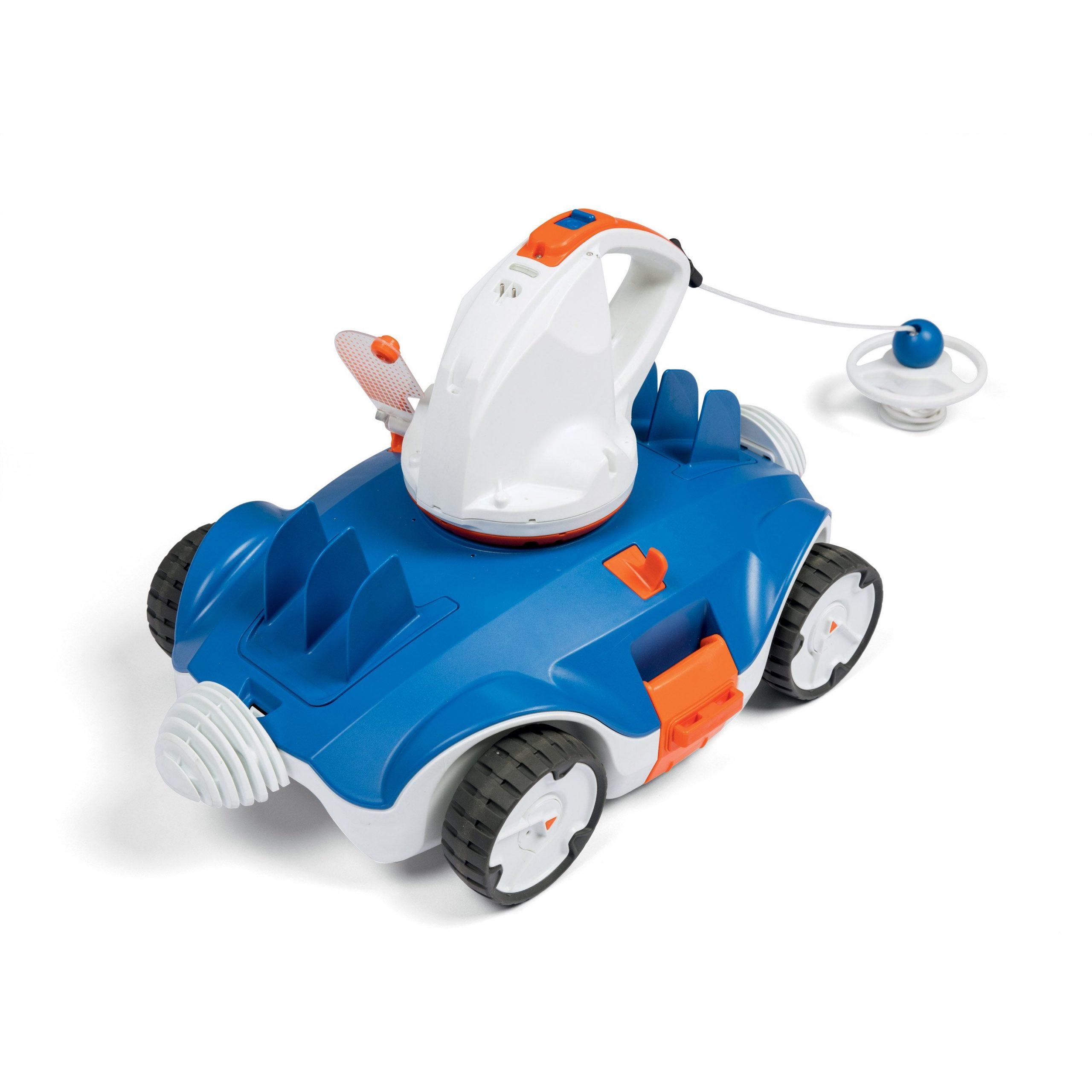Robot De Piscine À Batterie Bestway Aquatronix | Robot De ... pour Robot Piscine Leroy Merlin