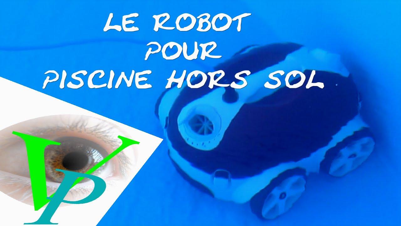 Robot De Piscine dedans Nettoyage Piscine Hors Sol