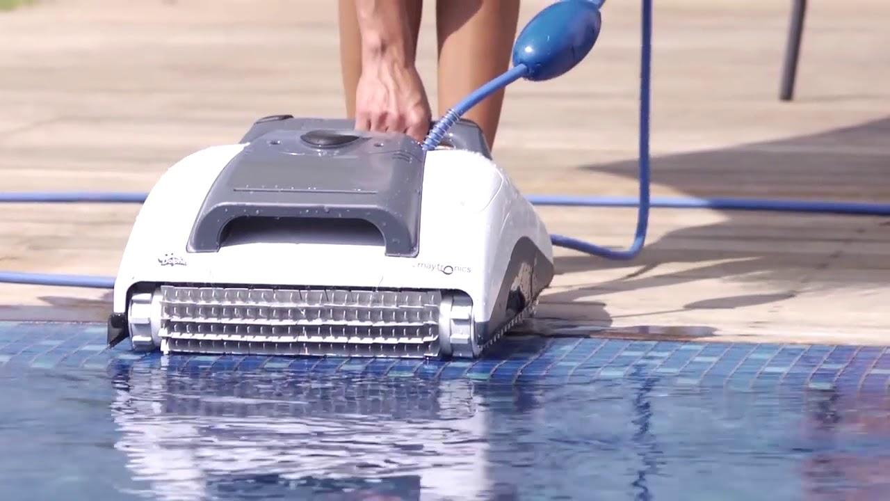 Robot De Piscine Dolphin M200 - Présentation Et Fonctionnement à Robot Piscine Dolphin S200