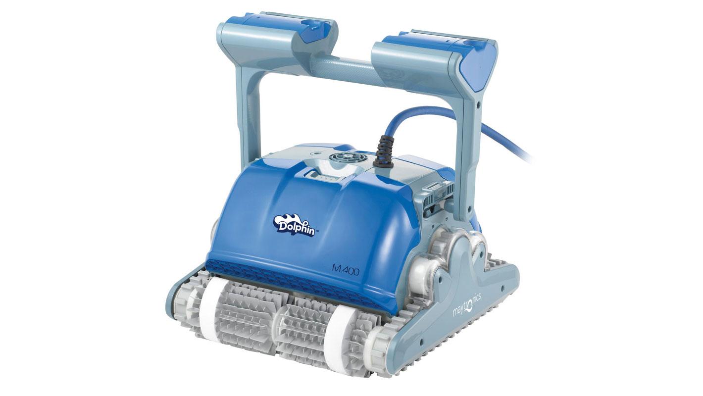 Robot De Piscine Dolphin M400 | Votre Robot Connecté encequiconcerne Robot De Piscine Electrique