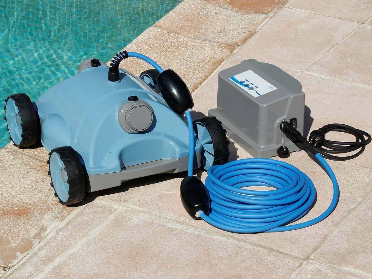Robot De Piscine Électrique Robotclean 2 - Ubbink dedans Robot De Piscine Electrique