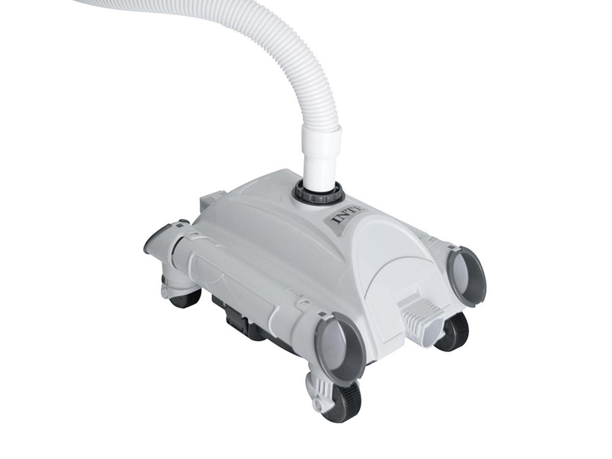 Robot De Piscine Nettoyeur De Fond - Intex pour Nettoyage Piscine Hors Sol
