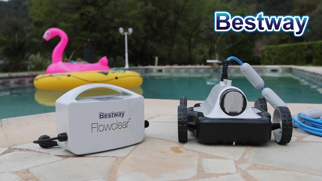 Robot Piscine Bestway Mia 58478 - Présentation Et Utilisation -  Robotpiscine.fr tout Location Robot Piscine