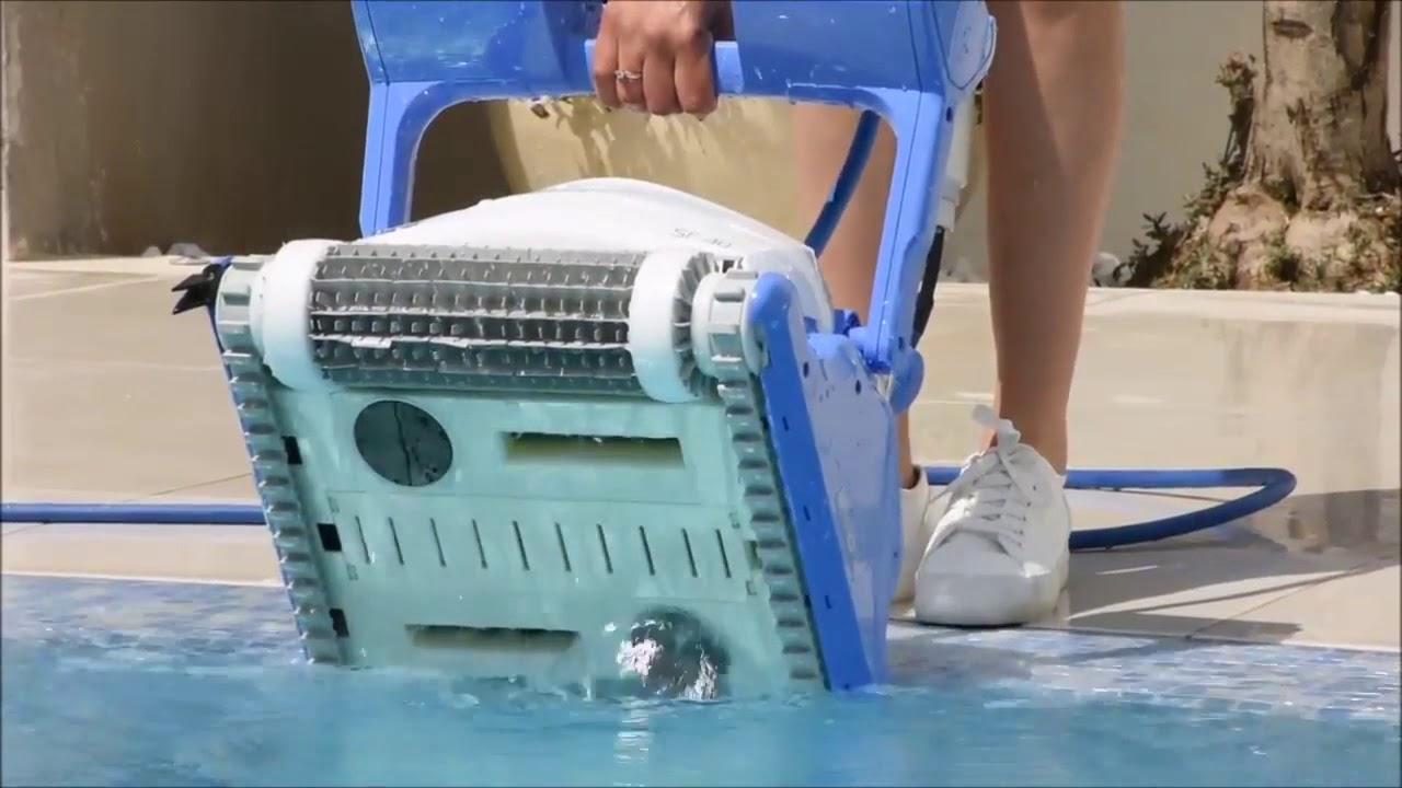 Robot Piscine Dolphin Explorer Sf40™ - Présentation & Utilisation dedans Location Robot Piscine