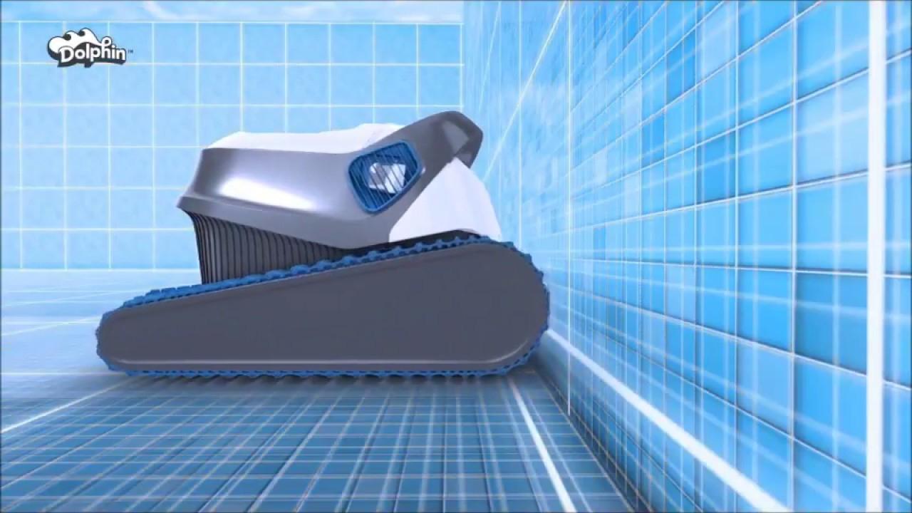 Robot Piscine Dolphin Série S / S100 S200 S300 S300I : Nettoyage  Intelligent - Robotpiscine.fr intérieur Robot Piscine Dolphin S200