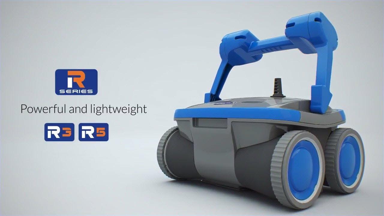 Robot Piscine Électrique Astral R5 - Présentation - Robotpiscine.fr concernant Arion Piscine