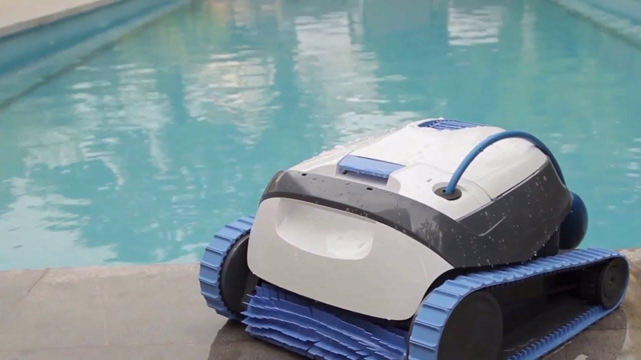 Robot Piscine Électrique Dolphin S100 - Présentation Démonstration -  Robotpiscine.fr avec Robot Piscine Dolphin S200