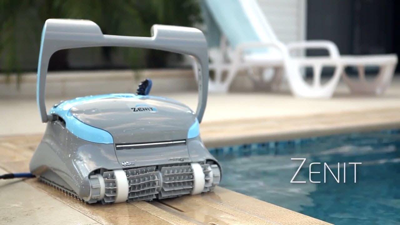 Robot Piscine Électrique Dolphin Zenit - Présentation - Robotpiscine.fr serapportantà Location Robot Piscine