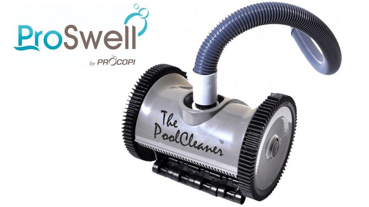 Robot Piscine Hydraulique À Aspiration The Poolcleaner Proswell -  Robotpiscine.fr intérieur Piscine Proswell