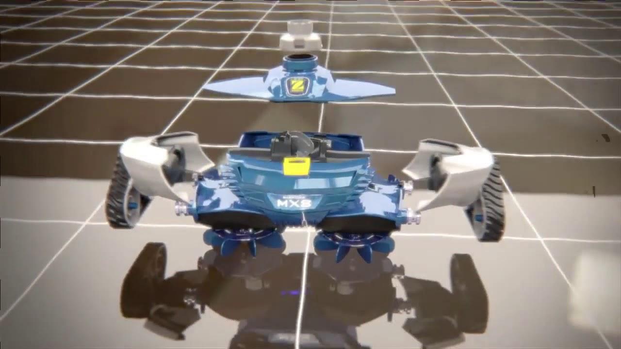 Robot Piscine Hydraulique Zodiac Mx8 - Présentation Démonstration -  Robotpiscine.fr destiné Robot Piscine Zodiac Mx8