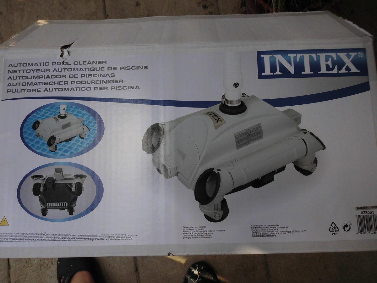 Robot Piscine Intex 28001 dedans Robot Piscine Hors Sol Intex
