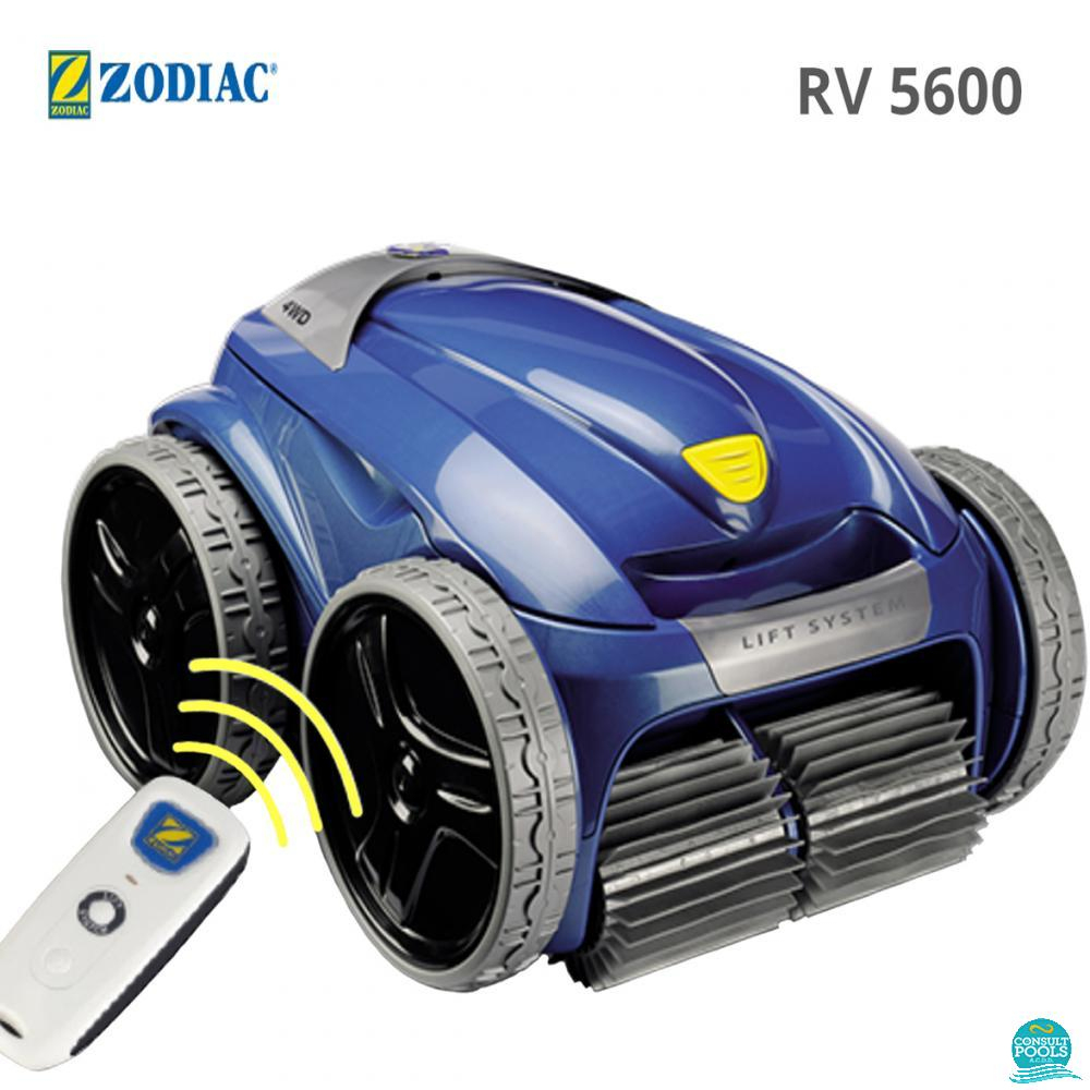Roboti Curatare Piscina Robot Piscina Vortex Rv 5600 ... intérieur Robot Piscine Zodiac Vortex 4