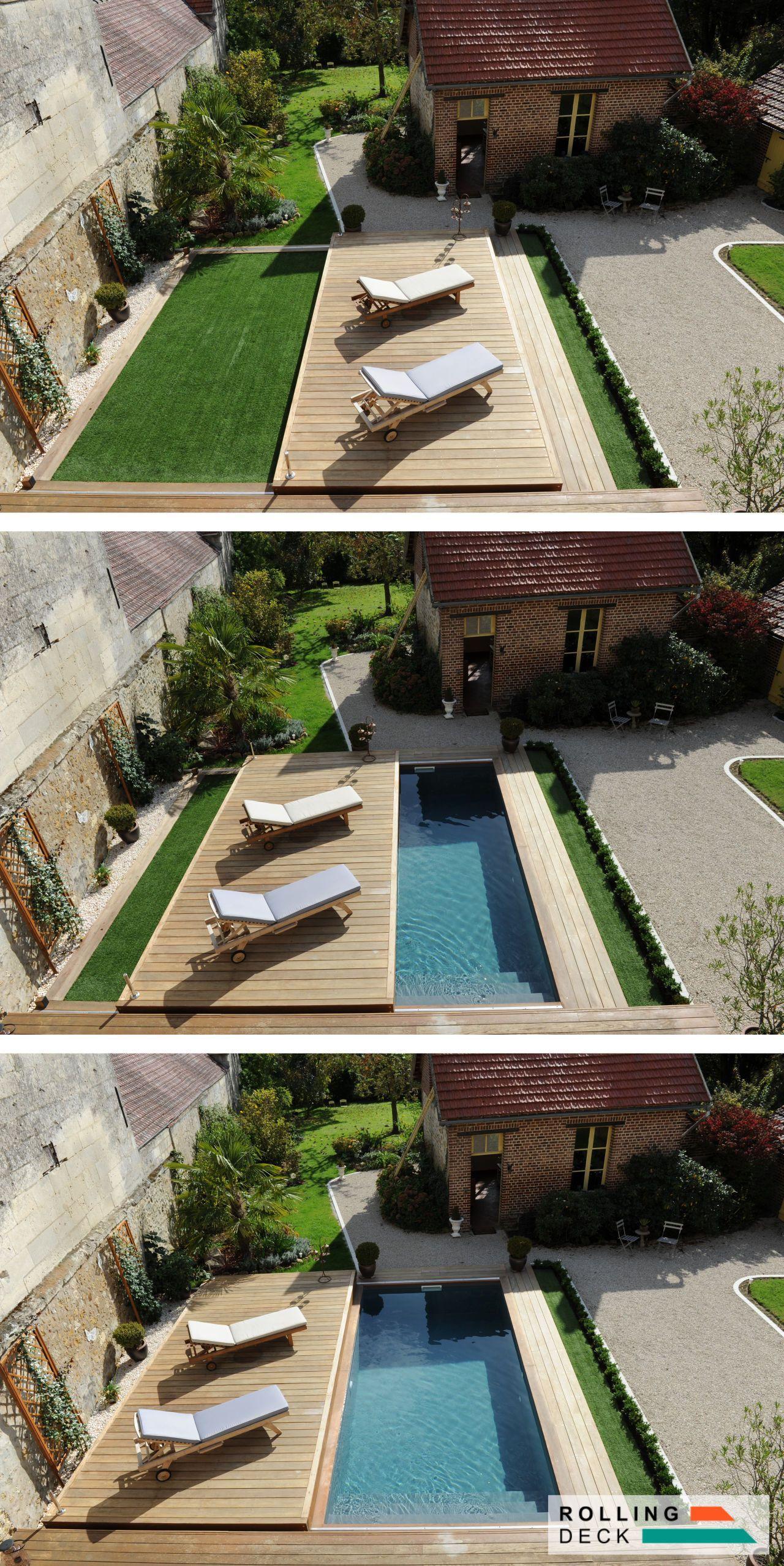 Rollingdeck #totalement #scurisant #terrasse #piscine ... serapportantà Bache Piscine Ete
