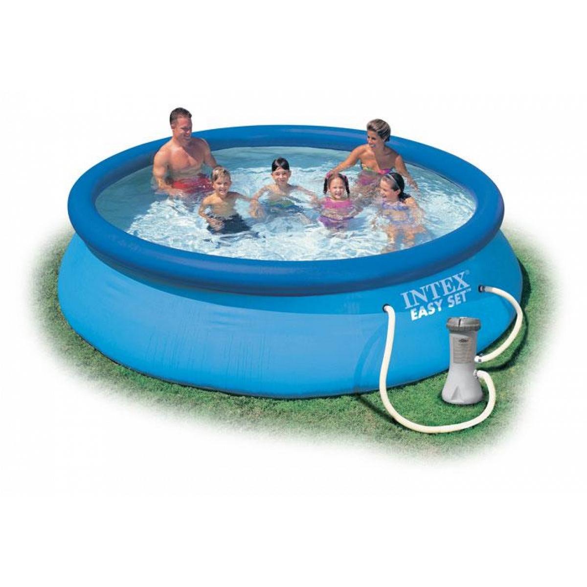 Round Pool Intex 366X76 Mod. Easy Set Intex Piscine pour Liner Piscine Intex