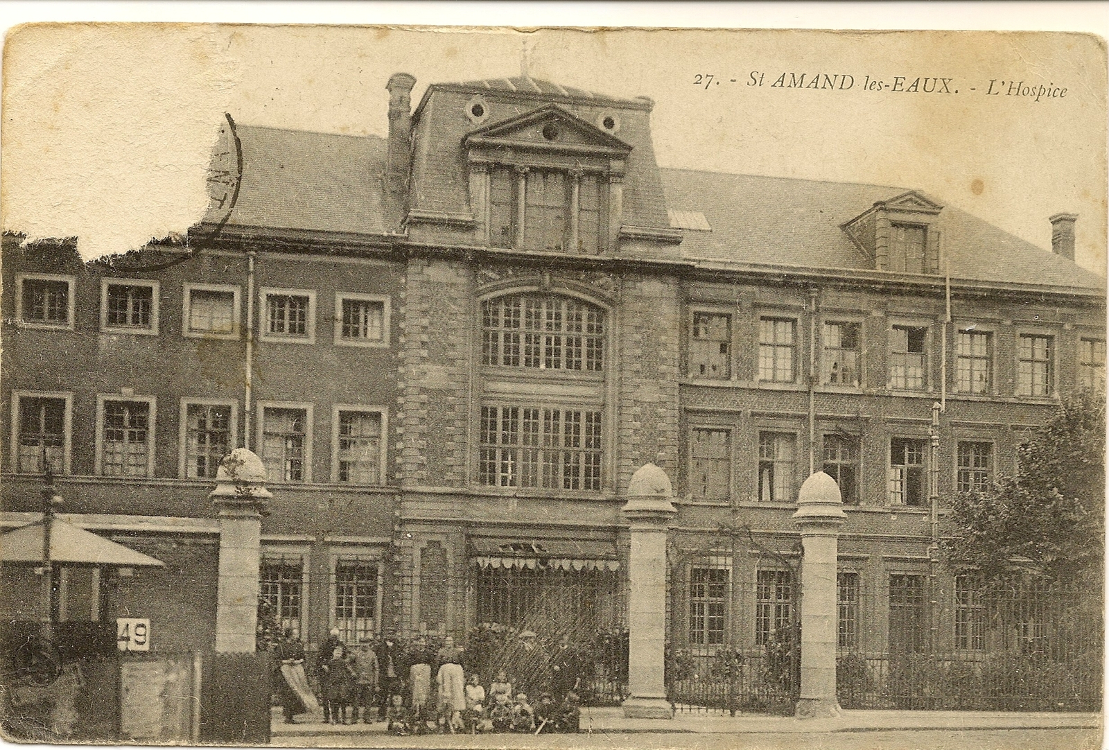 Saint-Amand-Les-Eaux - Recherche De Cartes Postales - Geneanet avec Piscine St Amand Les Eaux