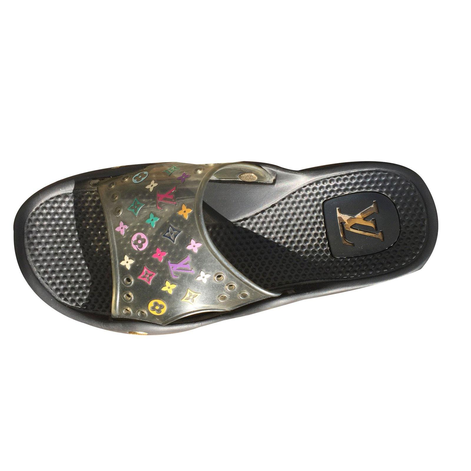 Sandale Plage/piscine Louis Vuitton concernant Sandales De Piscine