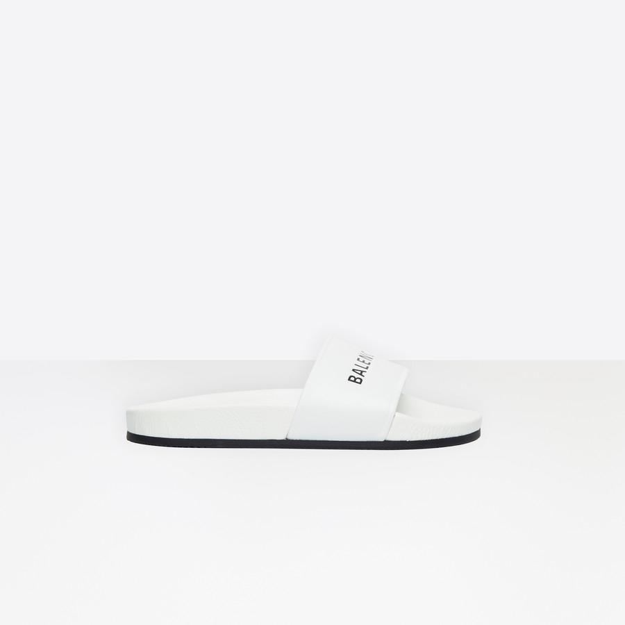 Sandales Piscine Pour Femme | Balenciaga encequiconcerne Sandales De Piscine