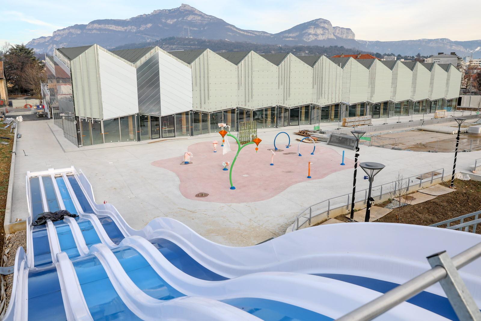 Savoie | À Quoi Ressemble La Nouvelle Piscine De Chambéry ? pour Piscine Chambery