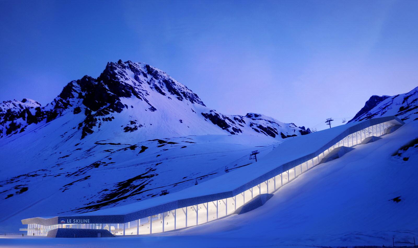 Savoie | Tignes Rêve Du Premier Ski Dôme Dans Les Alpes concernant Piscine Tignes