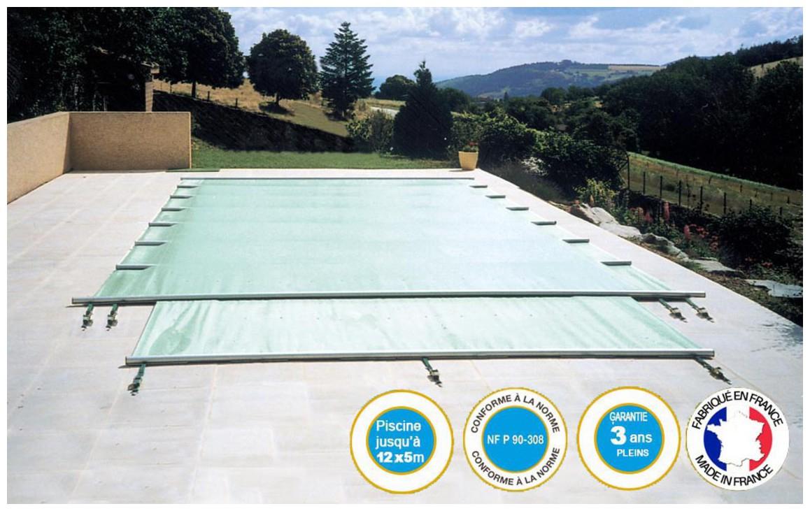 Securit Pool Access - La Couverture A Barres Qui Protège Intégralement La  Piscine avec Bache Piscine A Barre