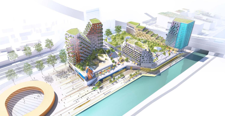 Seine-Saint-Denis. Donnez Votre Avis Sur La Future Piscine ... encequiconcerne Piscine De Noisy Le Sec