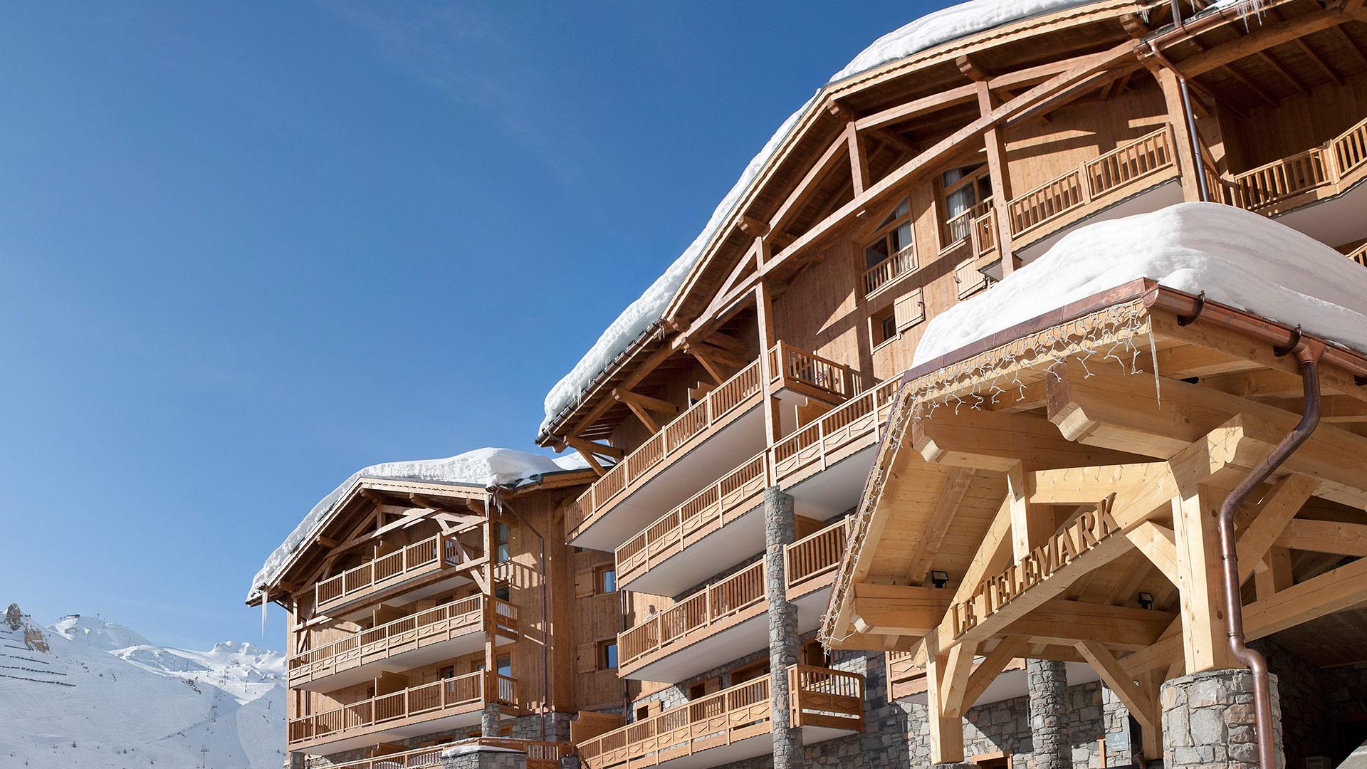 Séjour Au Ski À Tignes, La Télémark | Cgh Résidences concernant Piscine Tignes